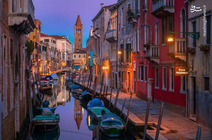 عکس/ شهری زیبا بر روی آب - 6