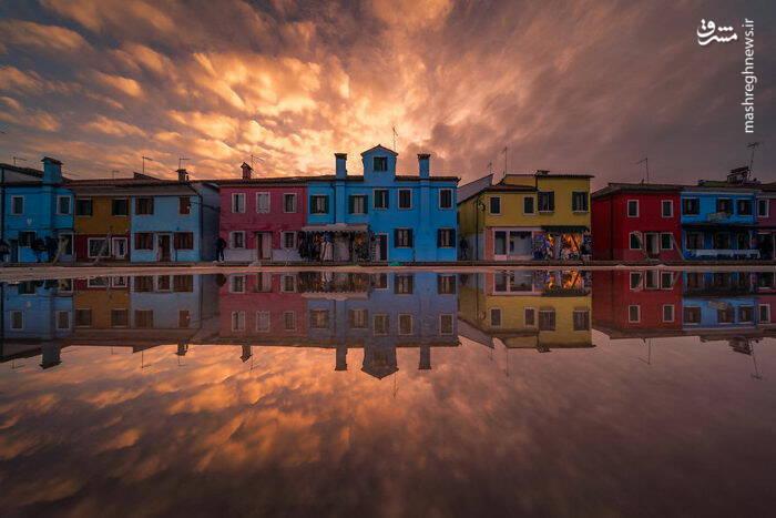 عکس/ شهری زیبا بر روی آب - 2