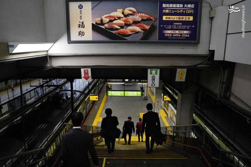 عکس/ متروی توکیو - 7