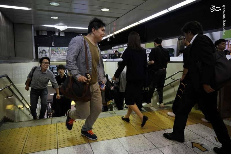 عکس/ متروی توکیو - 9