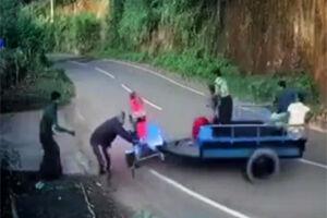فیلم/ خندهدار ترین حادثه رانندگی!