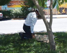 افسرِ پلیس مؤذن و نمازخوان +عکس