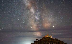 نمای شب زمین از نگاه فضانوردان +فیلم
