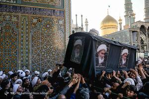 عکس/ تشییع پیکر آیت الله محقق کابلی در قم