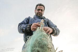 عکس/ صید ماهی در تعطیلات آخر هفته