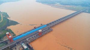 تصاویری جدید از خسارات سیل سهمگین در چین