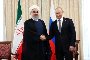 دیدار  روحانی و پوتین در قزاقستان