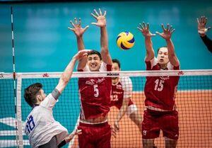 لیگ ملتهای والیبال؛ شکست لهستان مقابل روسیه در ارومیه