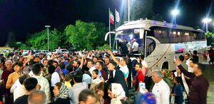 فیلم/ وضعیت سعید معروف پس از هجوم هواداران