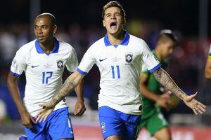 ارزش کوتینیو بیش از کل تیم پاراگوئه