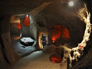 عکس/ شهر زیر زمینی ۱۸ طبقه ترکیه