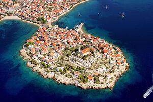 شهر کوچک روی آب