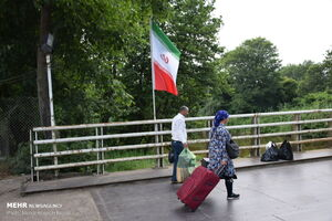 اشتیاق اتباع آذری برای خرید کالاهای ایرانی از مرز آستارا