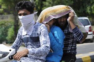 عکس/ گرمای مرگبار در هند
