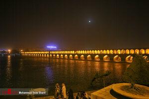 عکس/ هجوم ریزگردها به آسمان اصفهان
