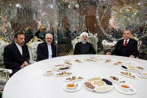 دیدار اردوغان و روحانی در تاجیکستان