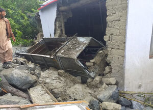 عکس/ خسارات وقوع سیل در پاکستان