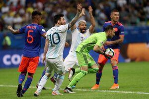 فیلم/ خلاصه دیدار آرژانتین 0-2 کلمبیا