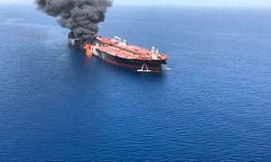 ژاپن اتهامات آمریکا علیه ایران را درباره حادثه ۲ نفتکش در دریای عمان رد کرد
