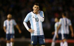 عکس/ چهره مسی پس از باخت مقابل کلمبیا