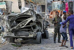 انفجار تروریستی در موگادیشو