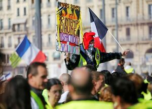 سی و یکمین هفته تظاهرات جلیقه زردها در فرانسه