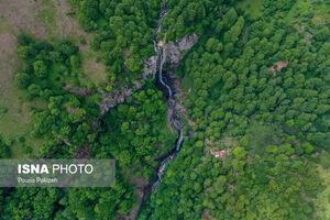 تصاویر زیبا از  بلندترین آبشار ایران