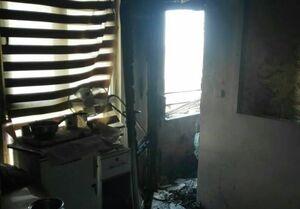 نجات ۲۰ نفر از آتشسوزی آرایشگاه زنانه