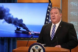 هفت دلیل برای دروغگوبودن پمپئو در حادثه نفتکشها در دریای عمان + فیلم