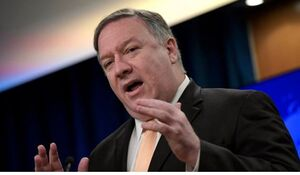 واکنش پامپئو به خبر «رویترز» درباره ارسال پیام به ایران
