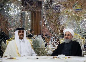 واکنش خشمگینانه رسانههای عربی به دیدار «شیخ تمیم» و «روحانی»