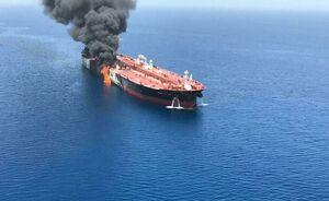 «سنتکام»:ایران پهپاد آمریکائی را در حادثه نفتکشها هدف قرار داد!