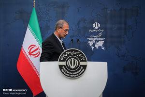 عکس/ اولین نشست خبری علی ربیعی سخنگوی جدید دولت
