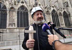 کلیسای نوتردام پس از فاجعه آتش