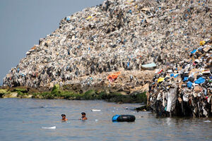 فیلم/ مرموزترین جزیره زبالهای جهان