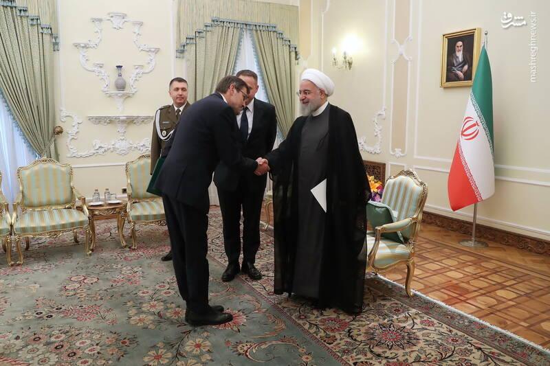 تقدیم استوار نامه سفیر جدید لهستان به دکتر روحانی