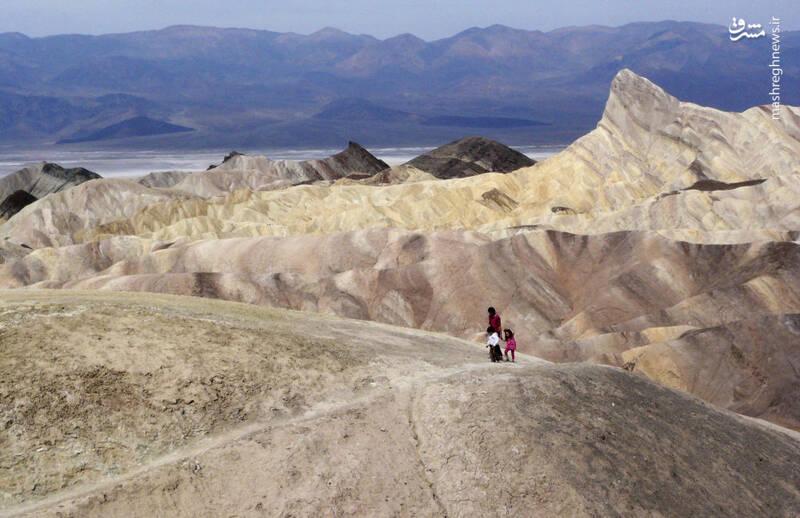 پارک ملی دره مرگ در کالیفرنیا