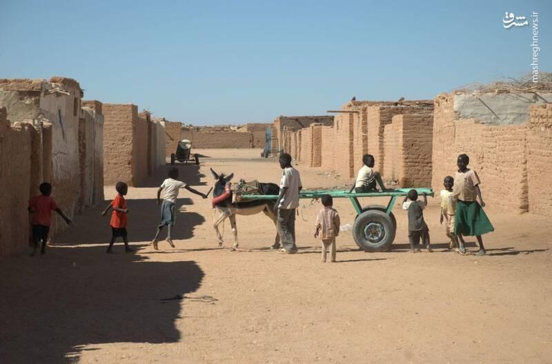شهری در صحرای سودان