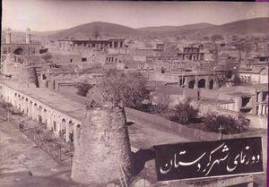 عکس/ سنندج در زمان قاجار