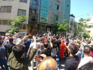 عکس/ پای پلیس ضدشورش به تجمع پرسپولیسیها باز شد