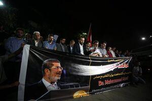 عزاداری مردم استانبول برای «مرسی»