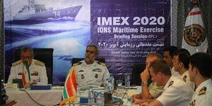برگزاری نشست هماهنگی رزمایش دریایی آیونز