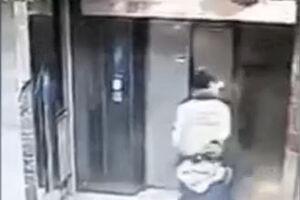 فیلم/ عاقبت حمله جنونآمیز به آسانسور!