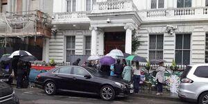 وضعیت سفارت ایران در لندن غیرعادی است