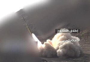 شلیک موشک زلزال به مواضع سعودیها در نجران