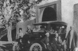 عکس/ اولین ماشینی که وارد یزد شد!