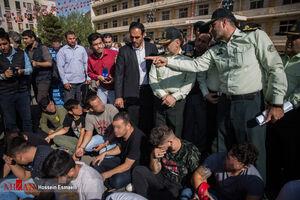 دستگیری ۳۶۶ نفر از اراذل و مزاحمان نوامیس