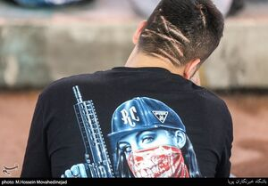 عکس/ پاتک پلیس تهران به اراذل و اوباش