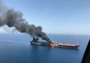 جدیدترین صحنهسازی آمریکا علیه ایران در حادثه نفتکشها
