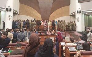 درگیری فیزیکی در مجلس نمایندگان افغانستان +فیلم